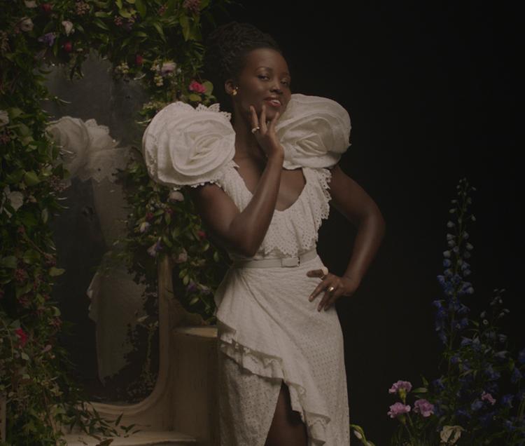 Lupita Nyong'o Rodarte Black is King