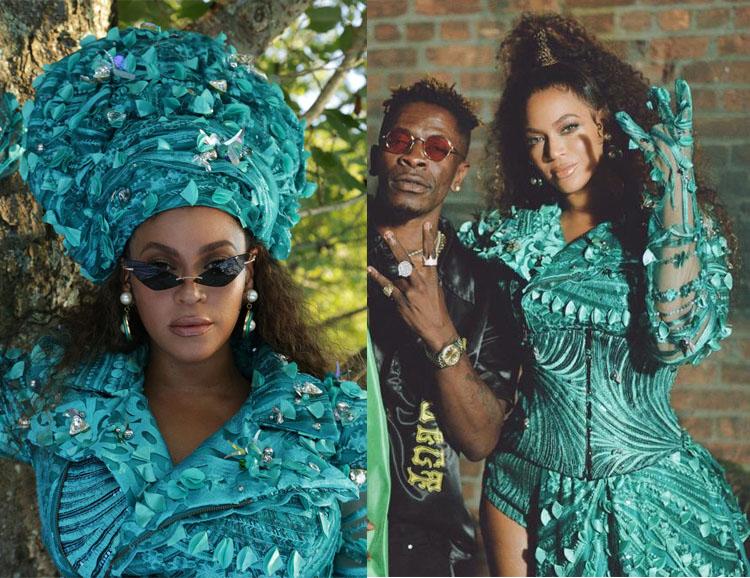 Beyonce 5:31 Jérôme Black is King