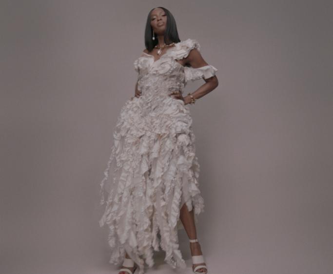 Naomi Campbell Alexander McQueen Black is King