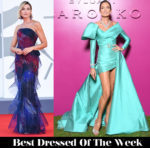 Best Dressed Of The Week Anna Foglietta In Armani Prive &  Nieves Álvarez In Elie Saab Haute Couture