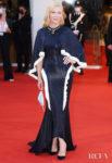 Cate Blanchett Recycles Her Esteban Cortazar Dress For The 'Lacci' 2020 Venice Film Festival Premiere & Opening Ceremony