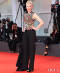 Cate Blanchett Wore Alexander McQueen To The 'Amants' Venice Film Festival Premiere