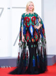 Cate Blanchett Wore Armani Prive To The Venice Film Festival Closing Ceremony