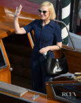 Cate Blanchett Wore Gucci Arriving At The Excelsior Hotel