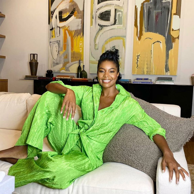 Gabrielle Union-Wade Has A Bright Start On Good Morning America In Izayla