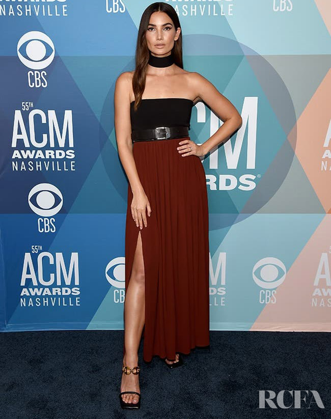 Lily Aldridge Wore Proenza Schouler To The 2020 ACM Awards