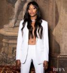 Naomi Campbell Wore Dior Men To The Bvlgari Barocco Event