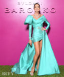 Nieves Alvarez Wore Elie Saab Haute Couture To The Bvlgari Barocco Event