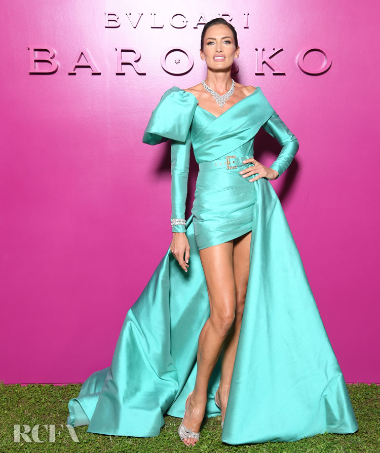 Nieves Álvarez Wore Elie Saab To The Bvlgari Barocco Event