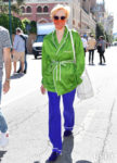 Tilda Swinton Wore Haider Ackermann Out In Venice