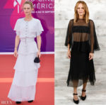 Vanessa Paradis Wore Two More Chanel Looks During The 2020 Deauville American Film Festival